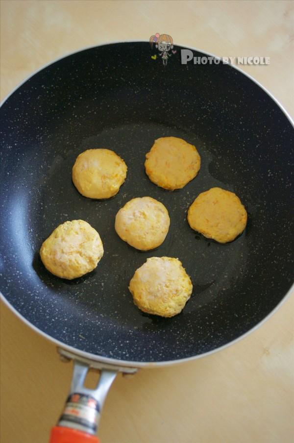 椰香燕麦南瓜饼的家常做法