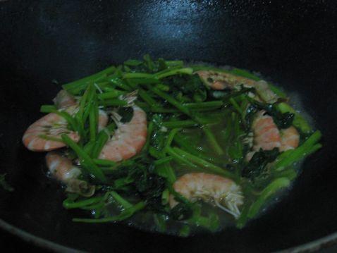 芹菜虾怎么做
