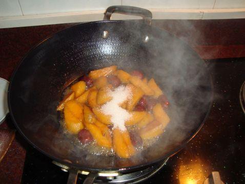 羔烧红薯怎么吃