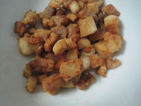 豆豉辣椒炒油渣的家常做法