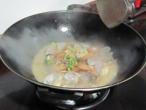 花蛤炒瘦肉怎么煸