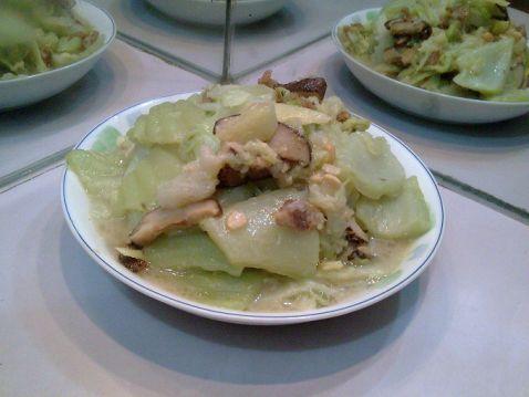 香菇猪油炒芥菜怎么炒