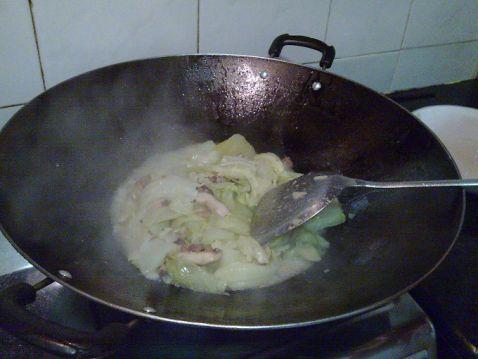 香菇猪油炒芥菜怎么做