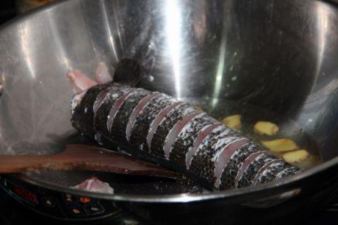 冬菜毛豆黑鱼的做法图解