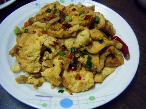 香辣煎豆腐怎么做