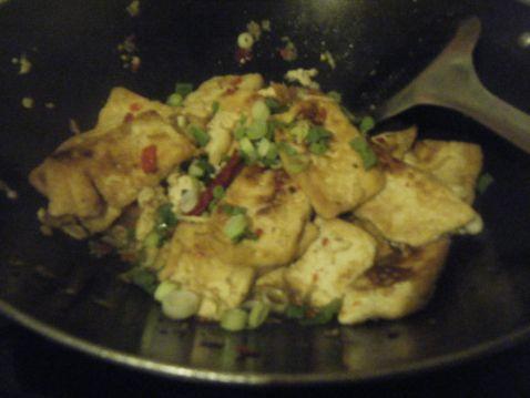 香辣煎豆腐怎么吃
