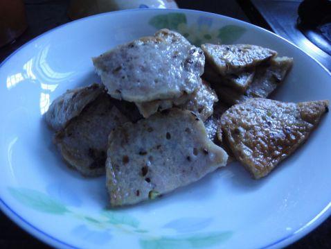 香菇肉饼炒丝瓜怎么做