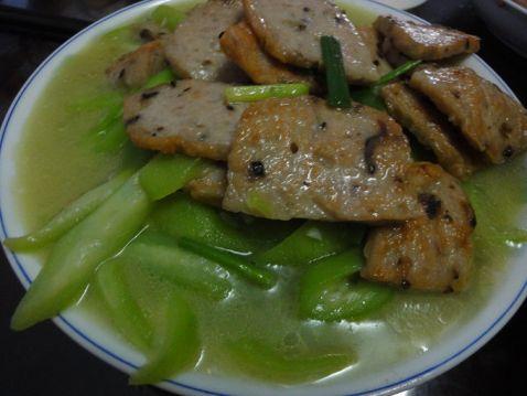 香菇肉饼炒丝瓜怎么煮