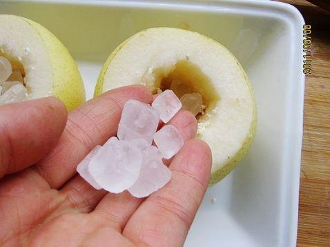 川贝母冰糖梨盅怎么吃