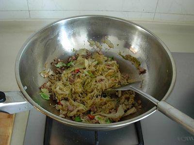 酸菜木耳金针煲的简单做法