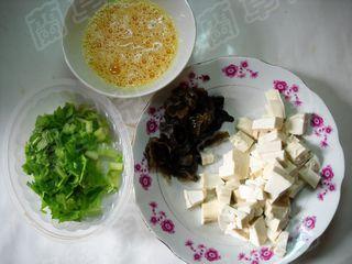 小炒芹菜豆腐的做法图解
