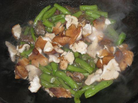 四季豆炒香菇怎么吃