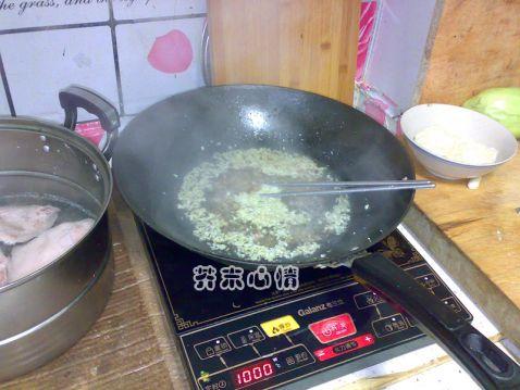 白菜肉末疙瘩汤怎么炒