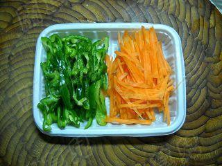 青椒杏鲍肉丝怎么吃