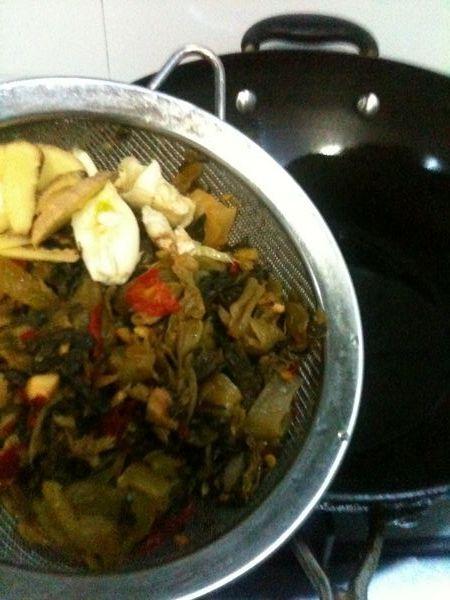 麻香酸菜鱼的家常做法