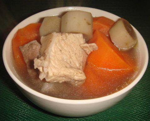 胡萝卜牛蒡汤怎么煮