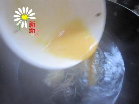 银鱼荠菜蛋花汤的简单做法