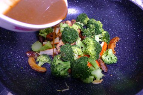 香菇蟹柳西兰花怎么炒