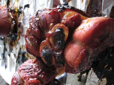 韩国辣酱烤猪肘的简单做法