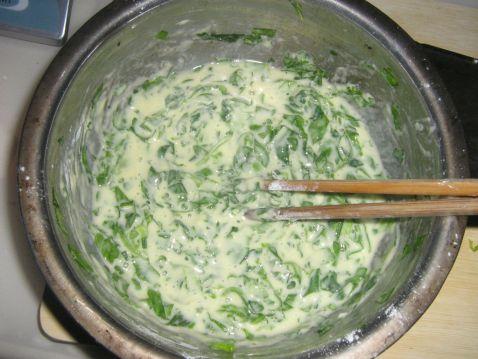 芹菜叶子饼的家常做法