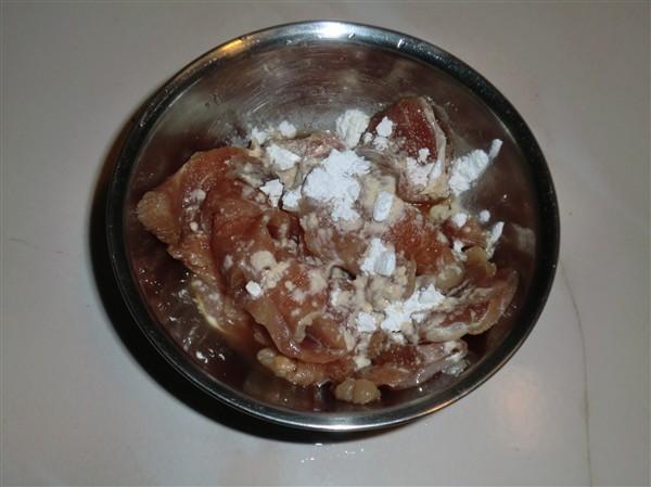 笋瓜青椒炒里脊的做法图解