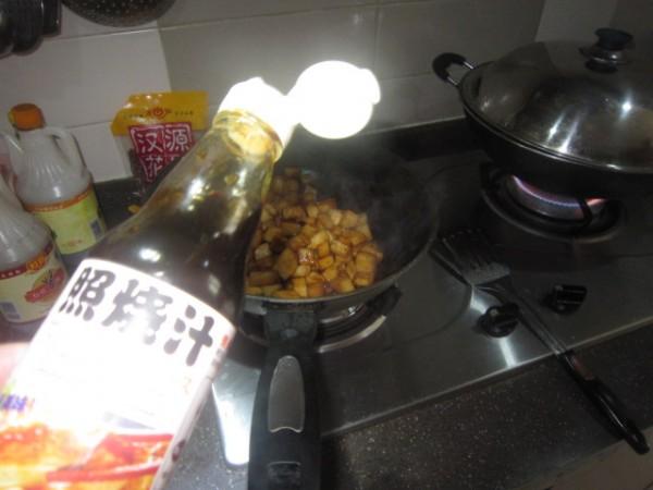 蒜香扇贝萝卜丁的简单做法