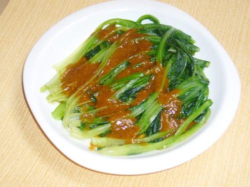 芝麻酱拌油麦菜怎么吃