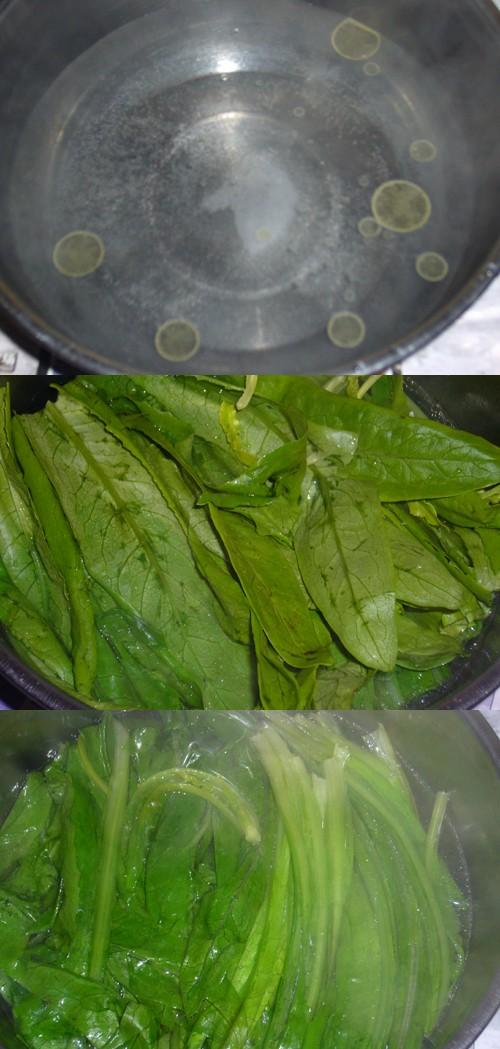 芝麻酱拌油麦菜的做法图解