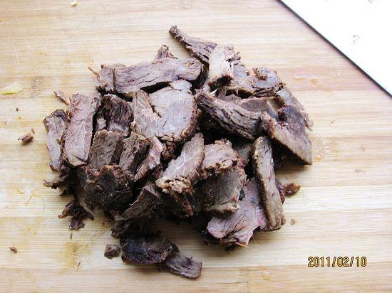 凉拌风味牛肉的做法图解