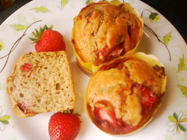 草莓奶油玛芬怎么做