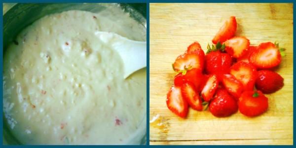草莓奶油玛芬的家常做法