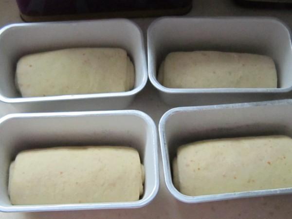 橙香燕麦小吐司面包怎么煮