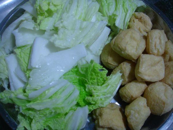 大白菜焖油豆腐的家常做法