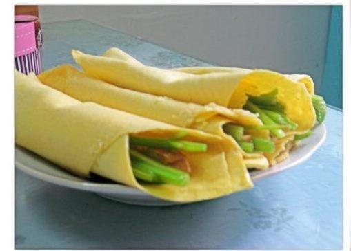 玉米卷饼的简单做法