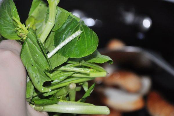 鱼豆腐炒菜心的简单做法