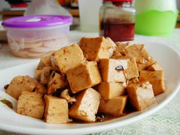 豆瓣酱炒豆腐怎么吃