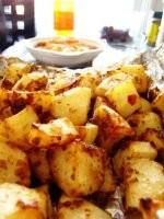 洋葱蒜香烤土豆的简单做法