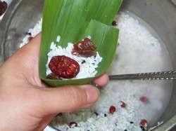 红枣桂圆粽怎么炒