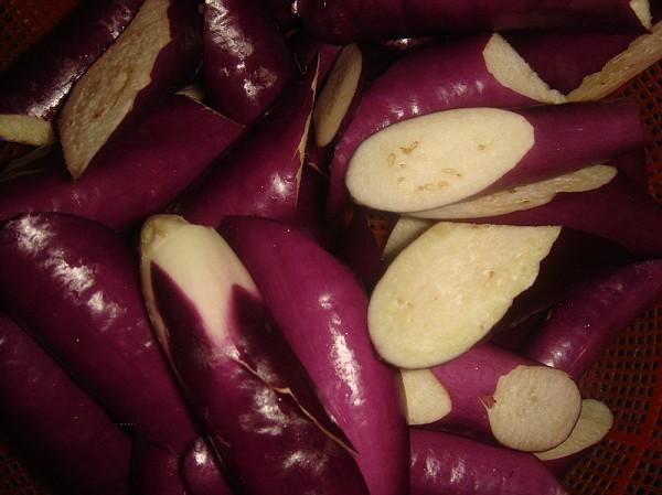 茄子炖辣椒的做法图解