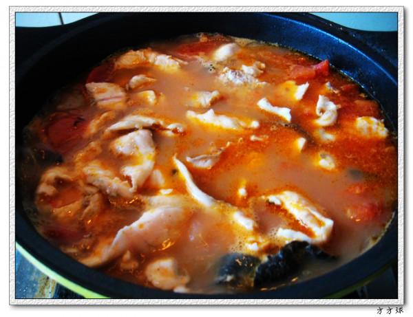 番茄鱼锅怎么煸