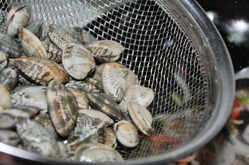 爆炒花蛤的家常做法