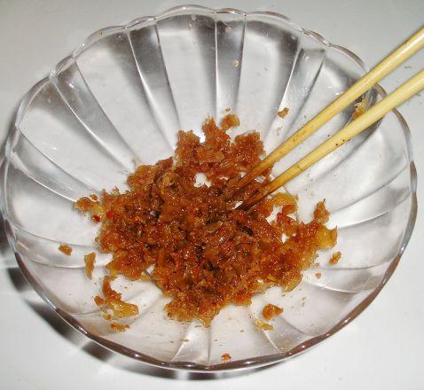 辣白菜鱼籽饼的做法图解