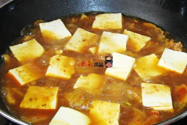 泡菜豆腐汤怎么吃