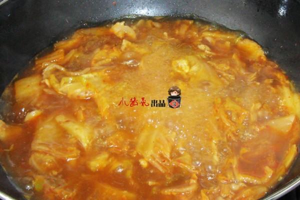 泡菜豆腐汤的简单做法