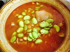 茄汁猪蹄炖黄豆怎样炒