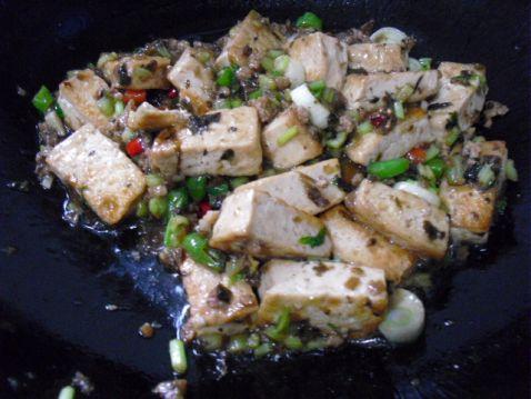 芽菜肉末豆腐怎么做