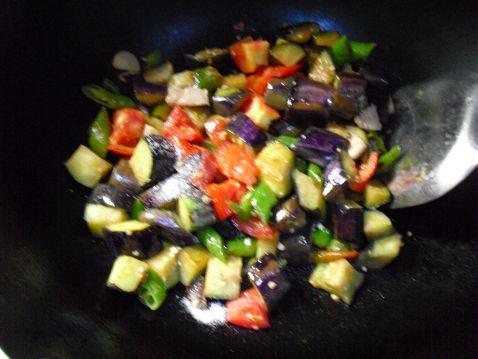 蒜香双茄的简单做法