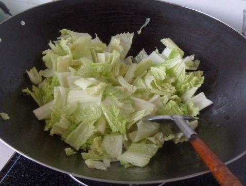 白菜炒粉丝怎么做