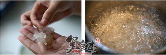 红豆炖雪蛤的家常做法