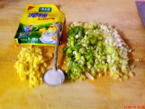 香葱豆腐渣的简单做法